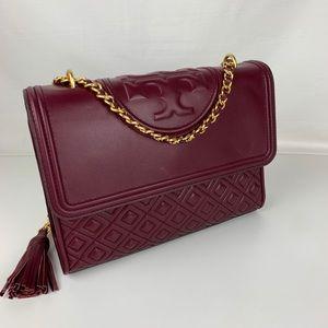 New Tory Burch Fleming Convertible Shoulder Bag